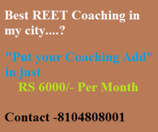 REET Coaching Advertisement