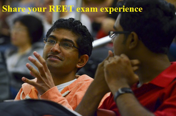 share your reet exam experience